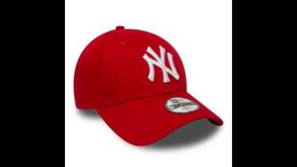 NEW ERA 940 LEAG BASIC NEYYAN SCARLET/WHITE