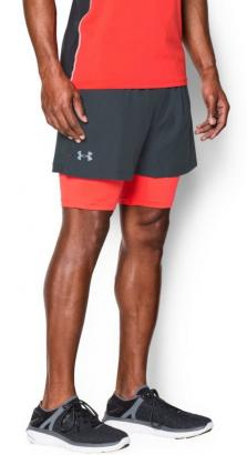 UA LAUNCH 5'' 2 IN 1 SHORT