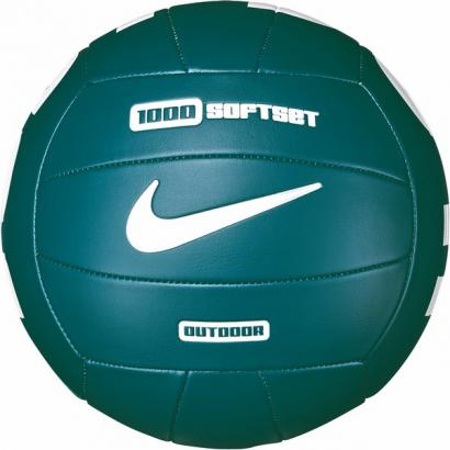 NIKE 1000 SOFTSET OUTDOOR VOLLEYBALL 18P 05 GEODE TEAL/GEODE TEAL/WHITE/WHITE