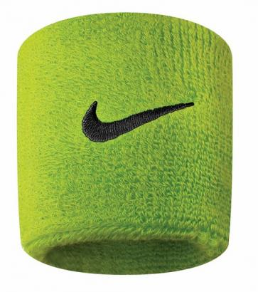NIKE SWOOSH WRISTBANDS ATOMIC GREEN/BLACK