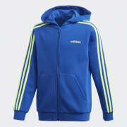 Youth Boys Essentials 3 Stripes Full Zip H