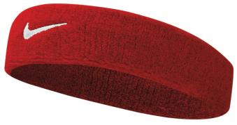 NIKE SWOOSH HEADBAND VARSITY RED/WHITE